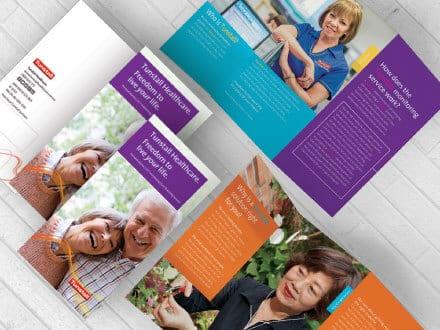 Tunstall Brochure Design
